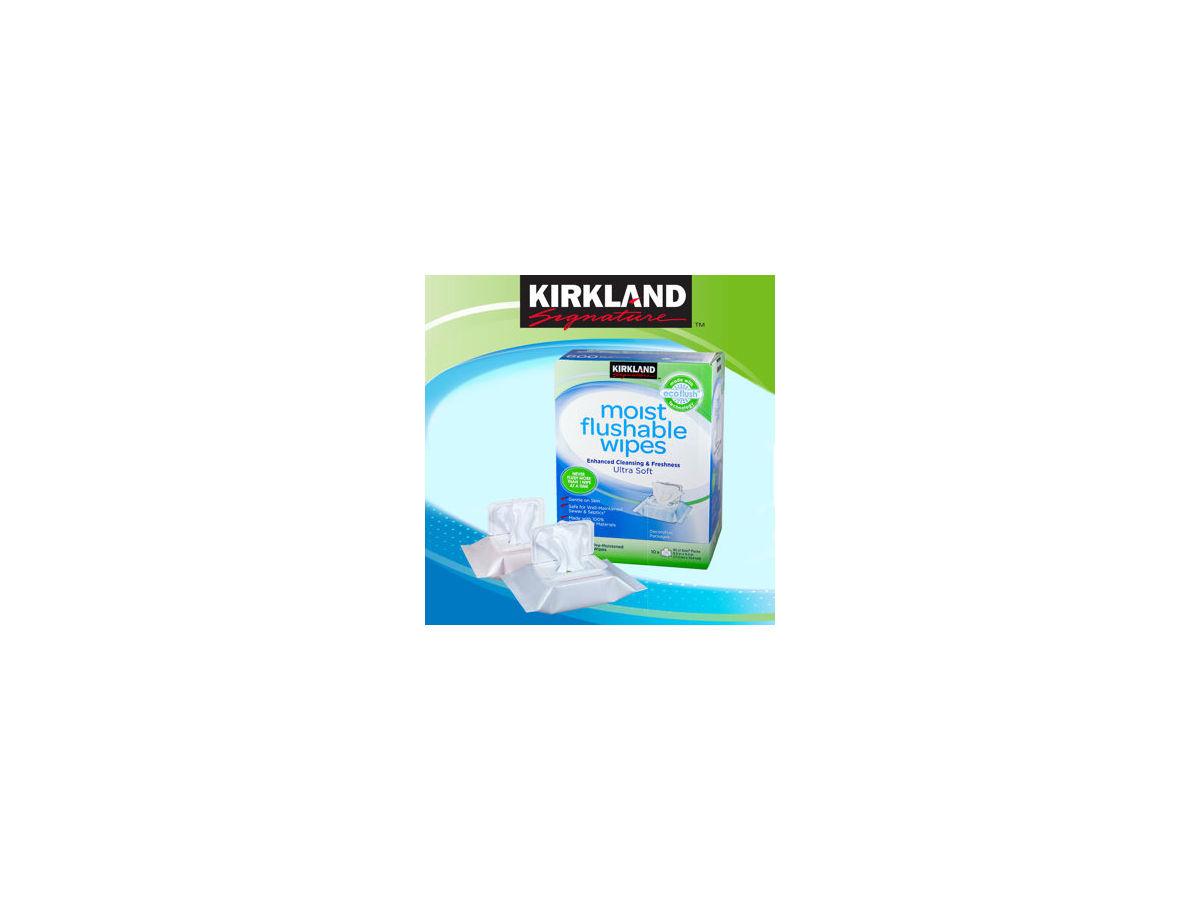 kirkland moist flushable wipes reviews