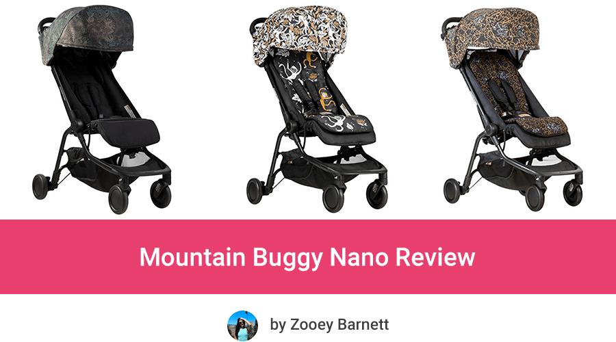 mountain buggy nano v2 review